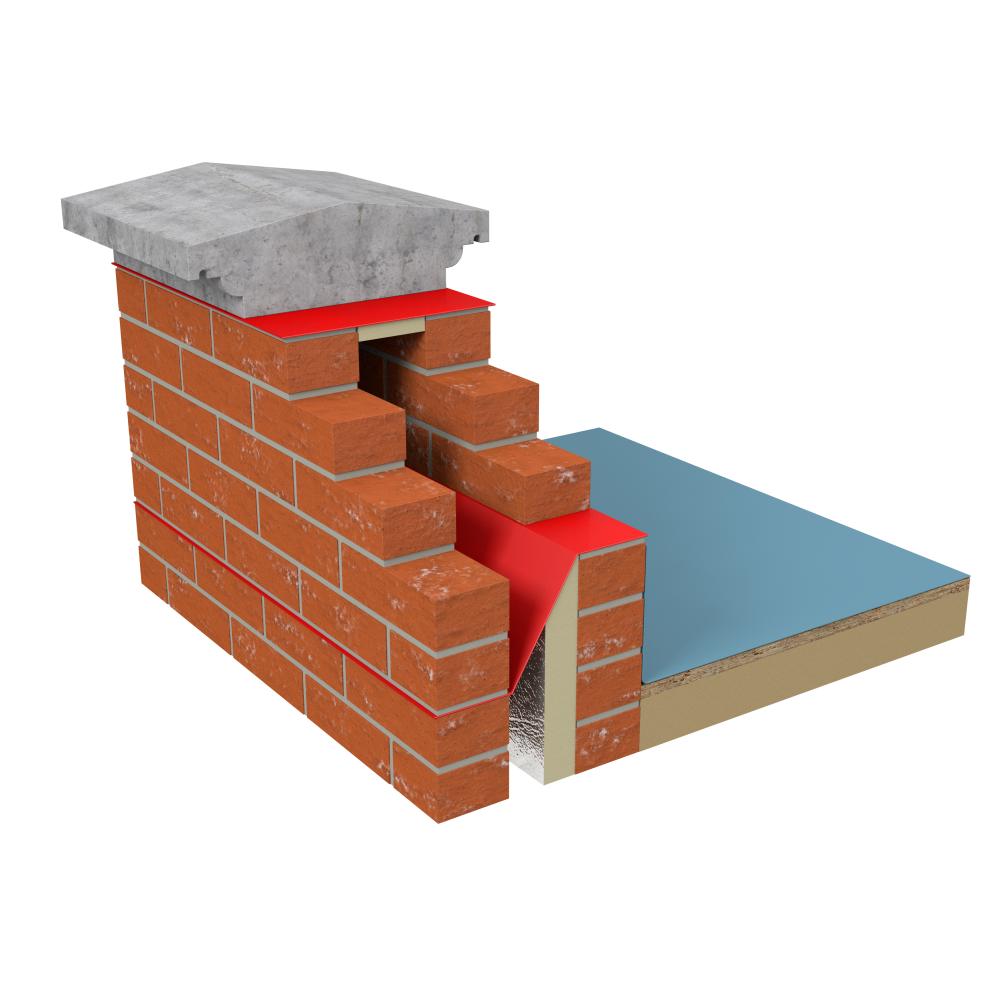 Visqueen Zedex High Bond Damp Proof Course image